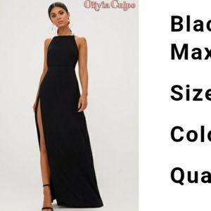 Olivia Culpo PLT long maxi dress gown